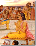 [Parikshit hearing Bhagavatam]