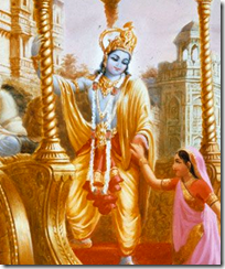 [Rukmini and Krishna]
