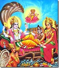 [Narayana in Vaikuntha]