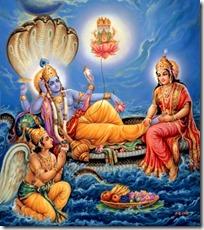 [Narayana resting]
