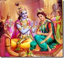 [Rukmini-Krishna marriage]