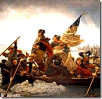 [Washington crossing the Delaware]