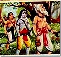 [Vishvamitra leading brothers]