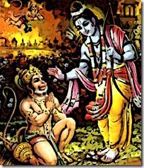 [Meeting Hanuman]