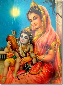 Rama with Kausalya