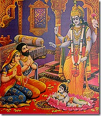 [Krishna's birth]