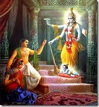 [Krishna's birth]