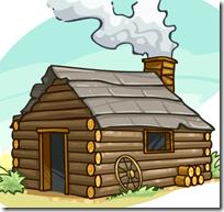 [log cabin]