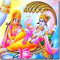 [Vishnu and Lakshmi]