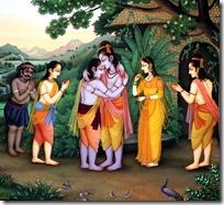 [Rama and Bharata meeting]