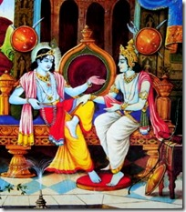 [Uddhava and Krishna]