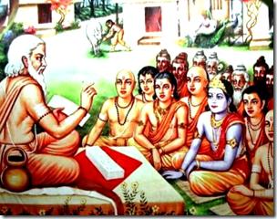[Sandipani ashrama]