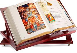 [reading Bhagavad-gita]