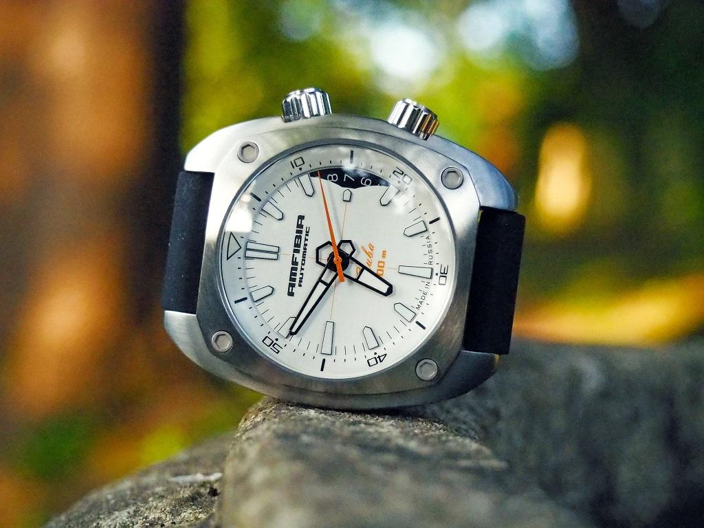 Amfibia Vostok Amphibia Scuba 2416 070799 - Krishna s Russian Watches d99852ba72