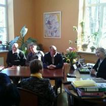 """Tikšanās ar BJC """"Laimīte"""" direktori Aivu Sarmu"""