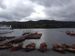 Bowness-on-Windermere pilsētiņa, kas atrodas pie viena no lielākajiem ezeriem Ezeru apgabala nacionālajā parkā (Lake District National Park)