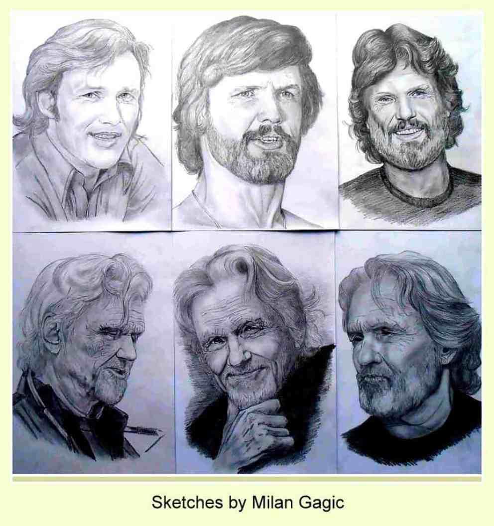 Kris Kristofferson sketches