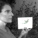 Artist_w_Art_Hummingbird_1