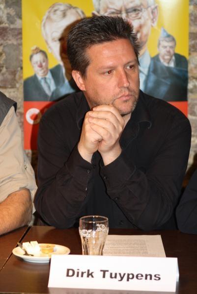 Dirk Tuypens, acteur bekend van Witse en Katarakt maar vooral van zijn sociaal engagement.