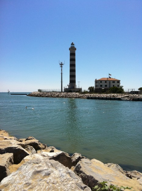 Lido Di Jesolo : Faro Lighthouse