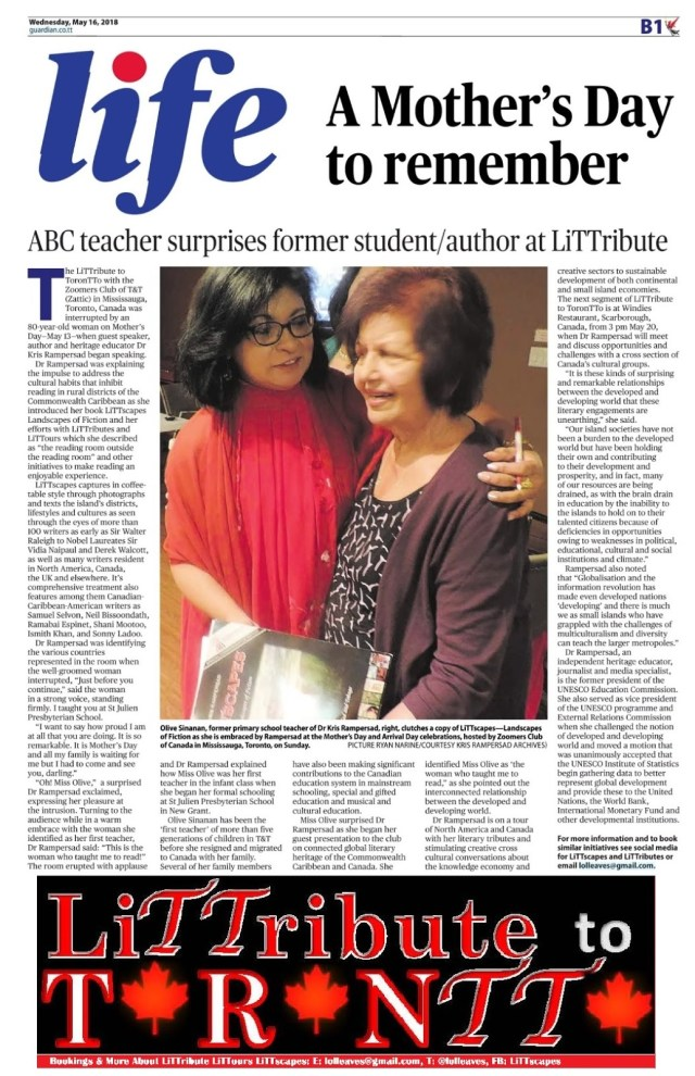 ABC Teacher praises Author
