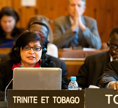 Representing Trinidad and Tobago at UNESCO
