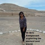 Dr Kris Rampersad, independent educator, scholar, cultural heritage specialist and journalist explores the ancient new world