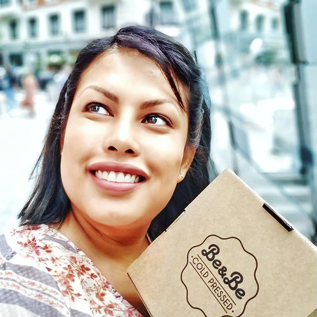 Me and my @beandbejuice  prize for top ten best product pictures.#instagood #instafood #foodporn