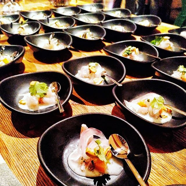 I'm into the culinary world now. Tonight in the grand opening of @bilbao_events I'm serving ceviche and recipe from head chef Igor. Glad everything went smoothly..#food #foodporn #yum #instafood #PleaseForgiveMe #yummy #amazing #instagood #photooftheday #sweet #dinner #lunch #breakfast #fresh #tasty #food #delish #delicious #eating #foodpic #foodpics #eat #hungry #foodgasm #hot #foods #IGERSBILBAO #igers