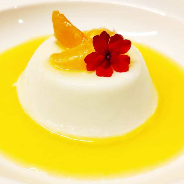 Welcoming #2021 with a bright and #beautiful dessert. Today my dessert is Citrus Panna Cotta with fresh mandarin orange and mandarin orange coulis. Hopefully the #NewYear will be as bright and hopeful as my dessert...#insta #instafood #instapic #picoftheday #magnificentshot #love #sexy #igers #igersbilbao #food #hungry #happy #delicious #yummy #restaurant #deliciousfood #urbanphotography #traditional #traditionalfood #peanutbutter #butter #desserts #childhood  #HappyNewYear #foodiesofinstagram #foodie #foodporn