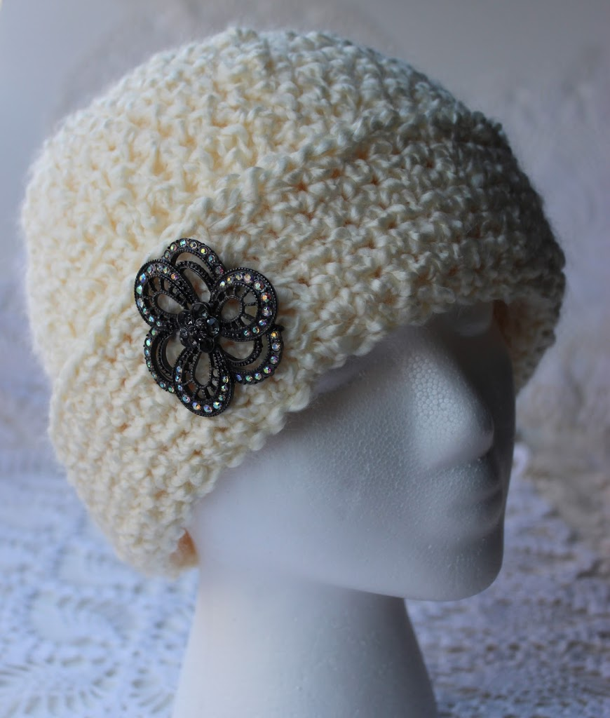 Young Girls Chemo Cap With Fancy Brim Options - Krissys Over The ... cde2dd10b676