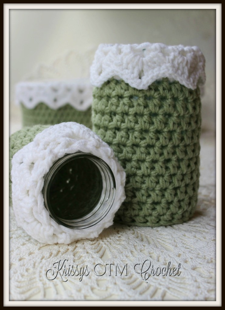 Lace Jar Covers
