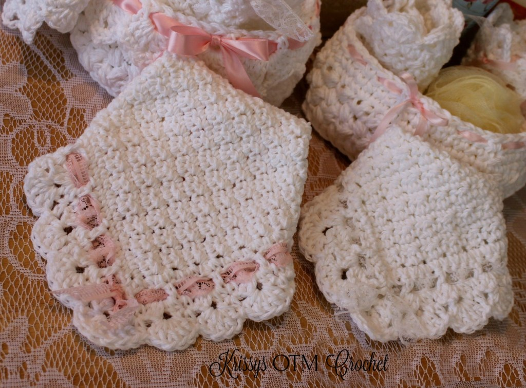 Vintage Inspired Washcloth 1 Krissys Over The Mountain Crochet