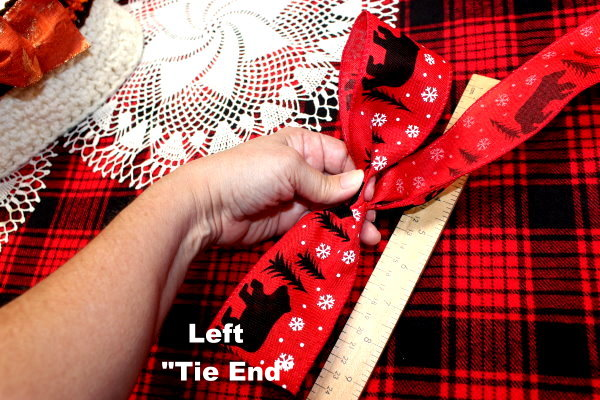 Left Tie End