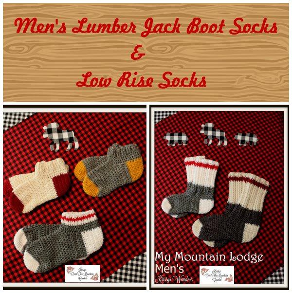 Men's Lumber Jack Boot Socks