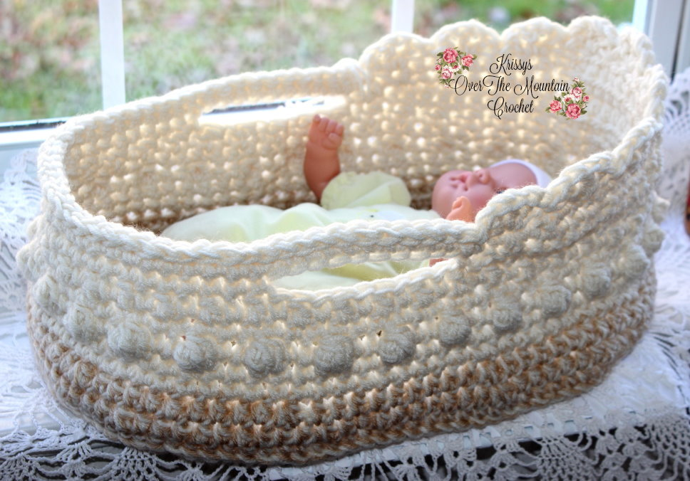 Moses Basket Krissys Over The Mountain Crochet