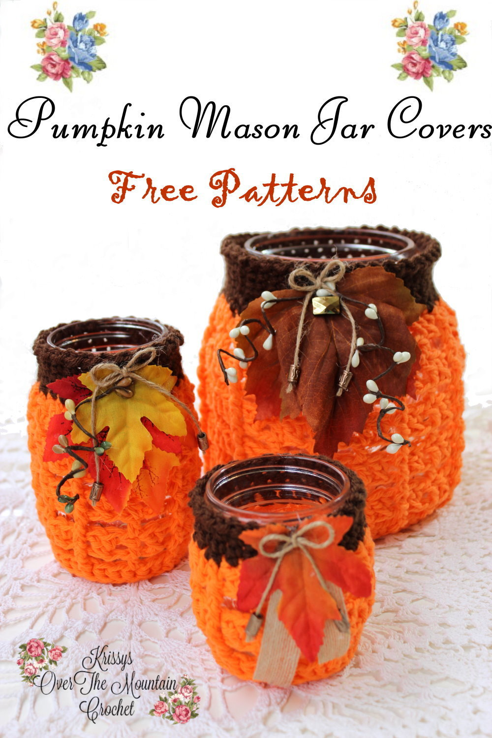 Pumpkin jar covers