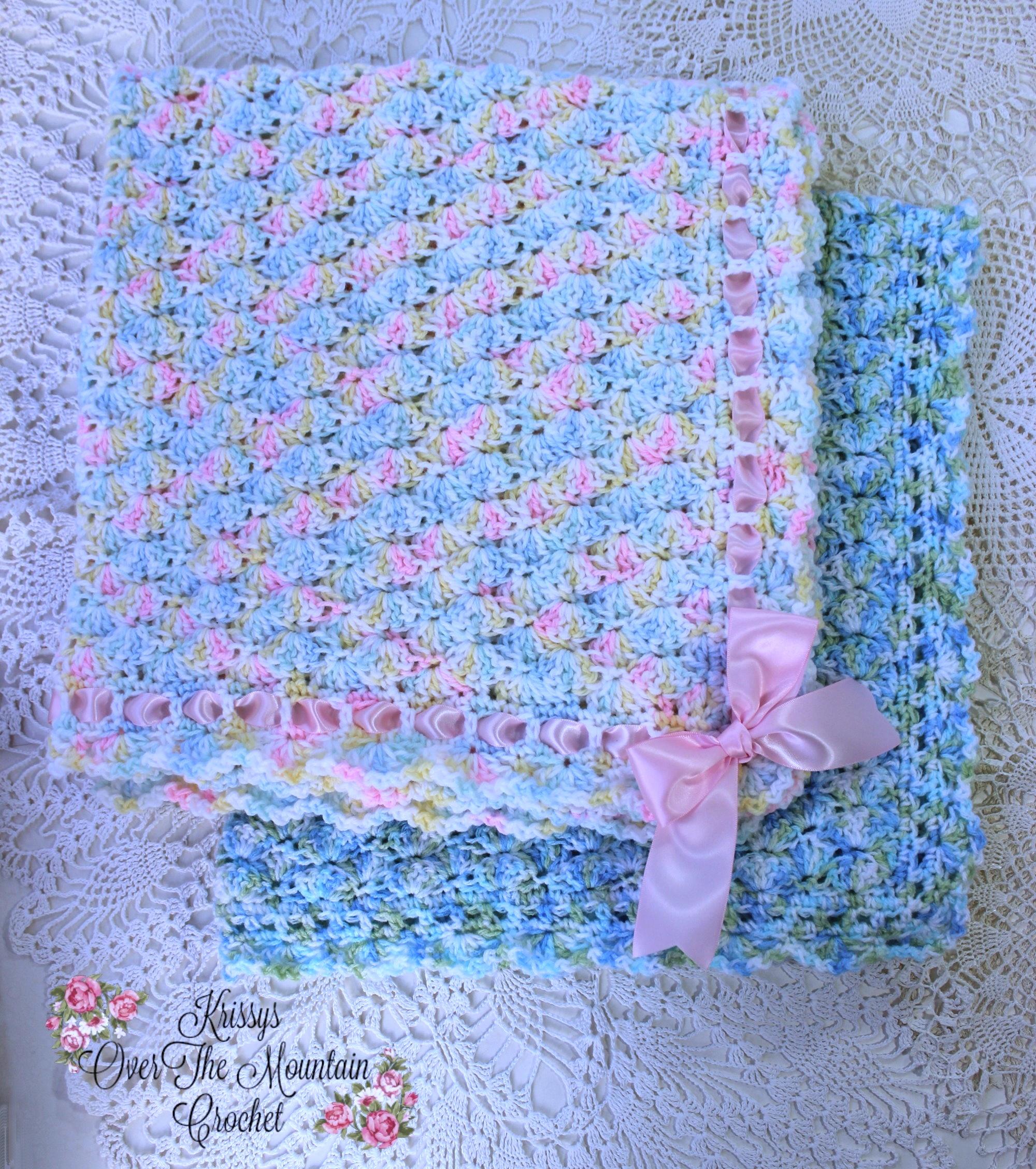 Simple Shells Blanket