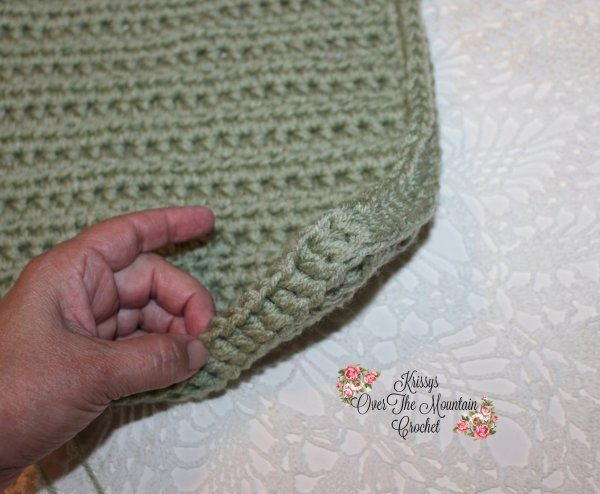 Crochet Lace Cover For Foldable Storage Bins