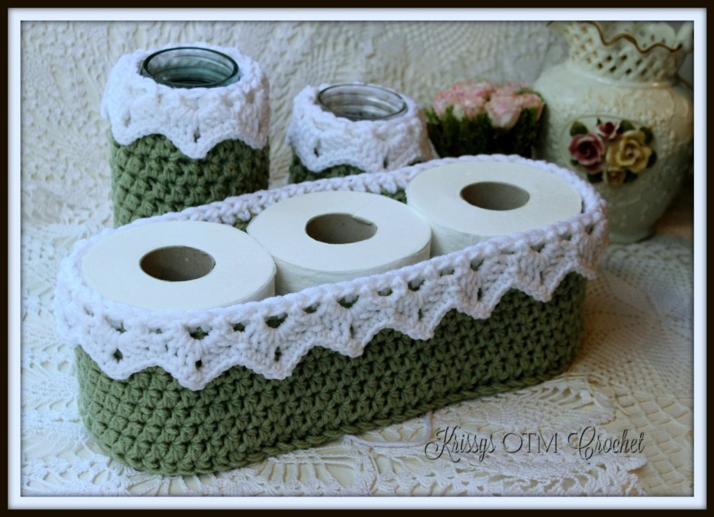 The Victorian Lace Toilet Paper cover is easy to make and adds a bit of beauty to your home.