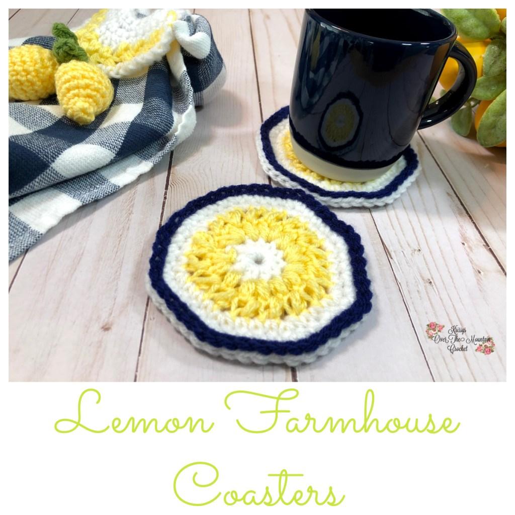 Lemon Farmhouse Coaster