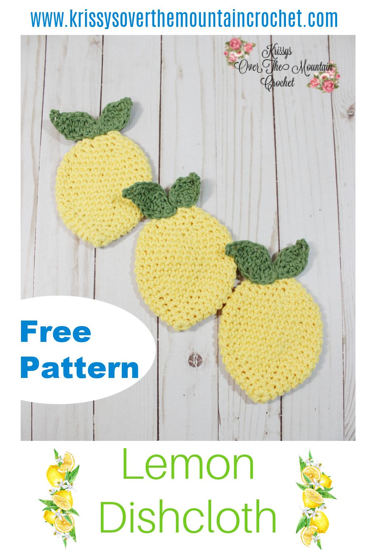 Lemon dishcloths