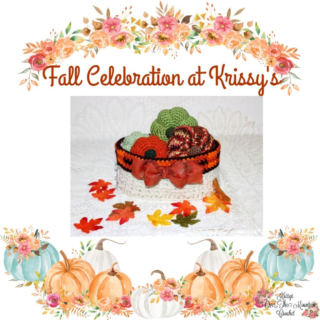 Fall Celebration, Plaid Oval Fall Basket
