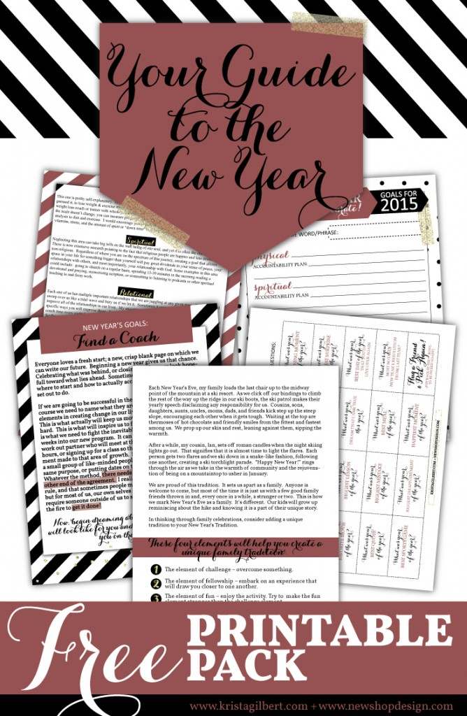 Your Guide to the New Year - KristaGilbert.com