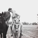 Alexis And Jack Engagement At A Horse Farm Krista Lee Photography