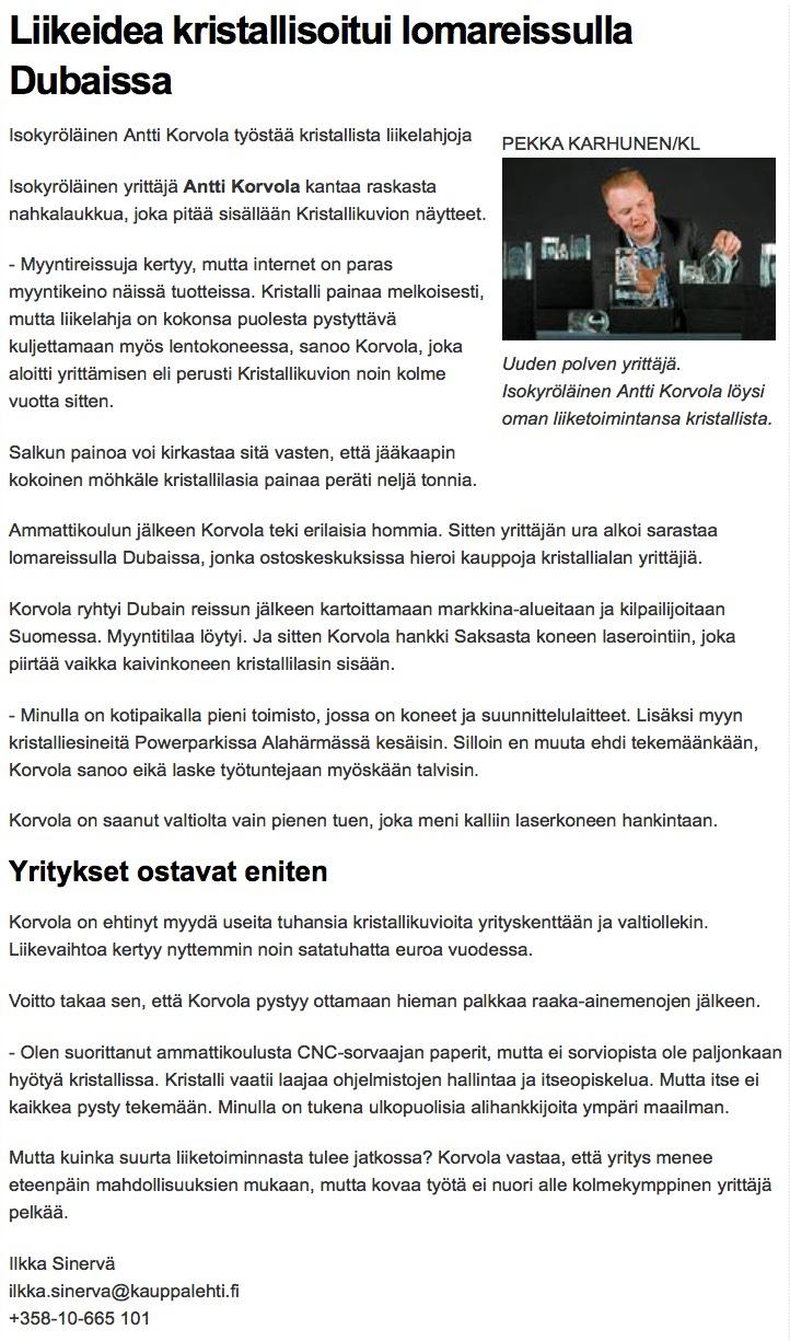 Kauppalehti 2011
