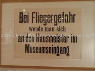 Museum als Luftschutzraum