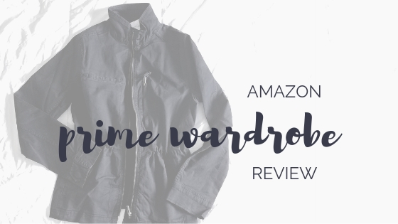 a review of amazon prime wardrobe with daily ritual clothing