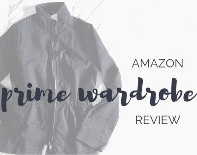 Prime Wardrobe Review with Daily Ritual
