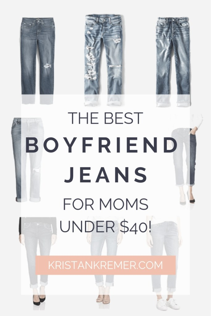The best boyfriend jeans for moms under $40